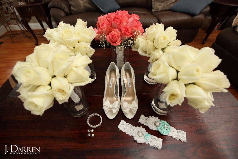 Shoes and flowers - J. Darren Photography