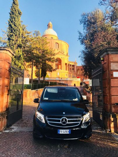 Bologna - Sanctuary of San Luca. The shrine is a symbol of the city itself.