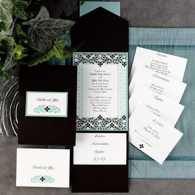 Carlson Craft Pocket Invitations
