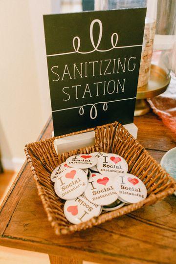 Sanitation station 2020