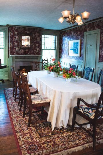Dining Room at Faunbrook