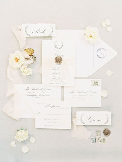 Invitation suite by RSVP Love