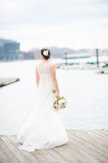 lace wedding dress baltimore bay weddin