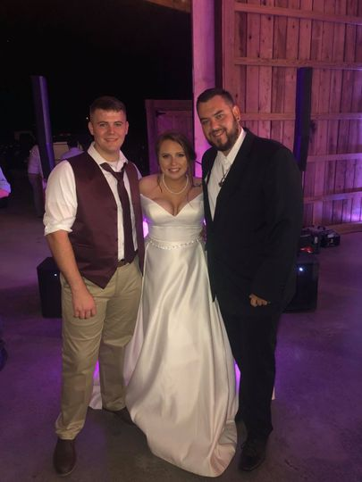 DJ Wes, another happy couple