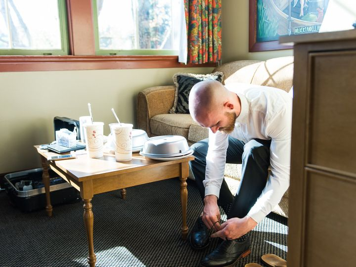 Tmx 1478908419384 Groom Tying Shoes Van Wyhe Photography 147 Bothell, Washington wedding venue