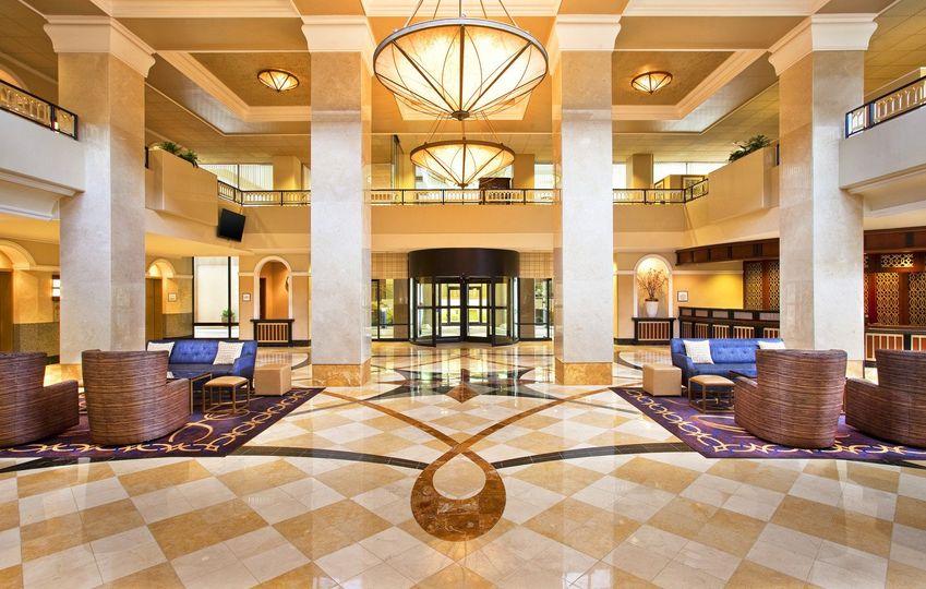 lobby and check inlo rez