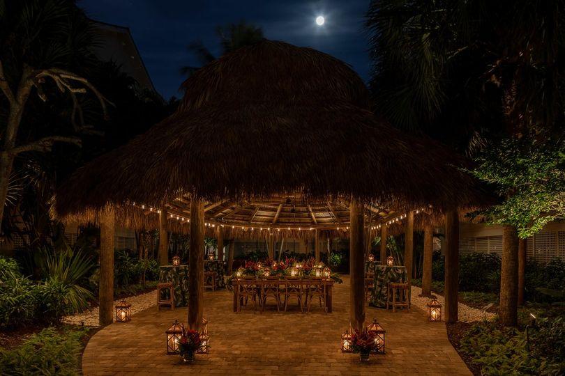 Outdoor pavillion