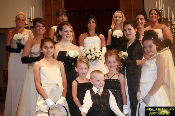 Huber Wedding BridesMaides, Flower Girls, & Ring Barer  Copyright © Joshua Deardens Photography -...