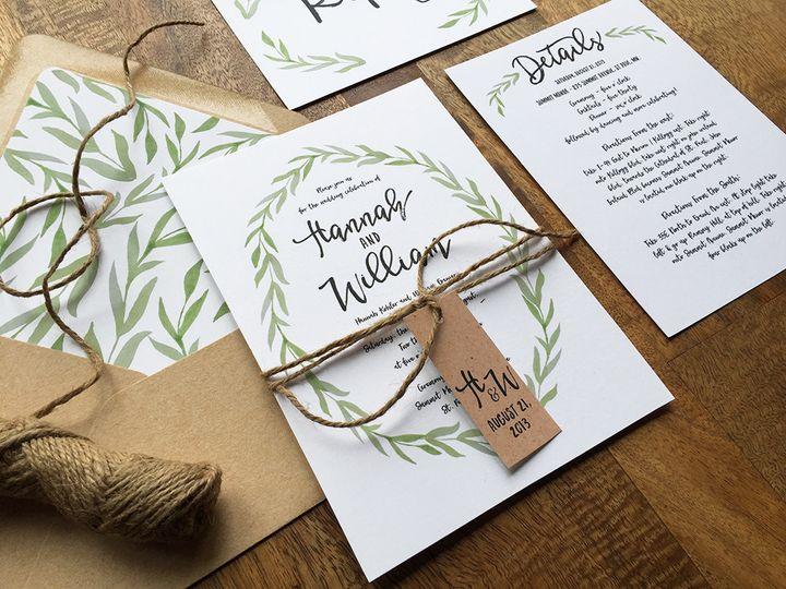 Tmx 1461881972951 Wed24fsml Minneapolis, MN wedding invitation