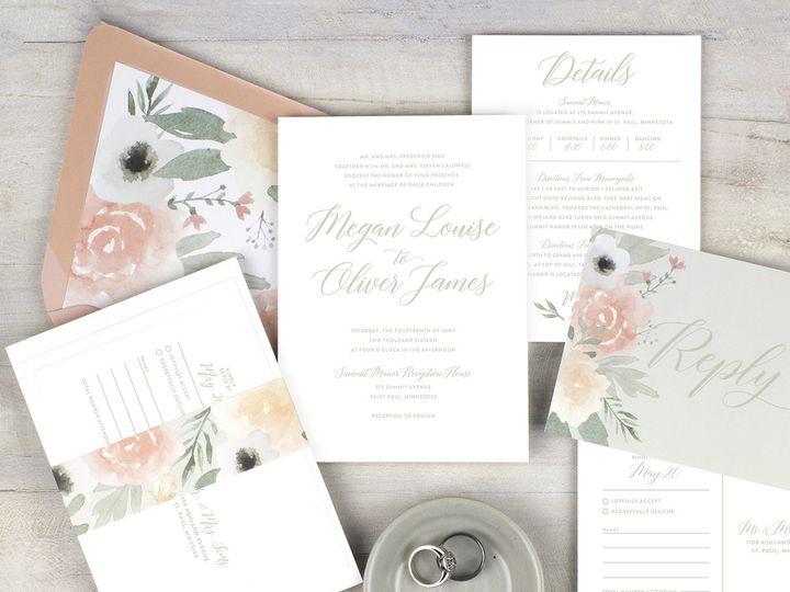 Tmx 1510672246691 Img7343sml Minneapolis wedding invitation