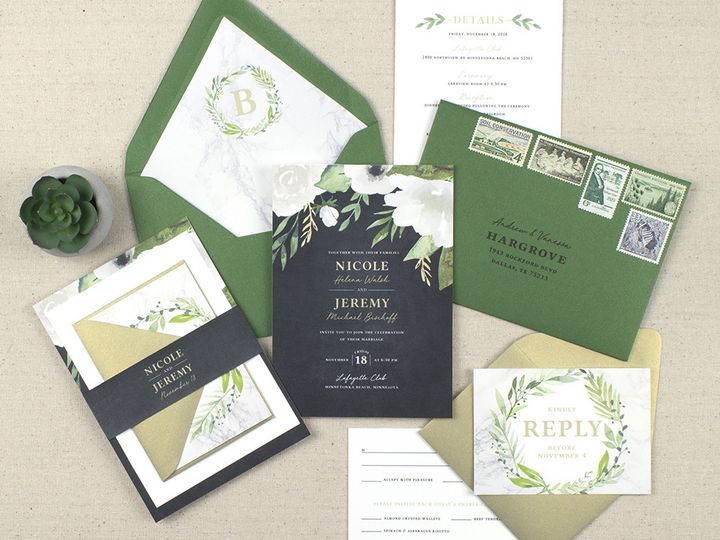 Tmx 1510672435312 Img7094sml Minneapolis wedding invitation