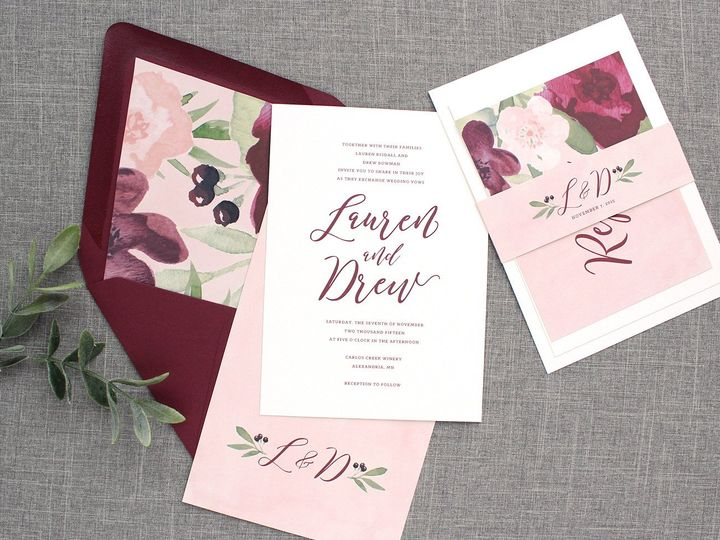 Tmx 1510672458445 Img6914sml Minneapolis wedding invitation