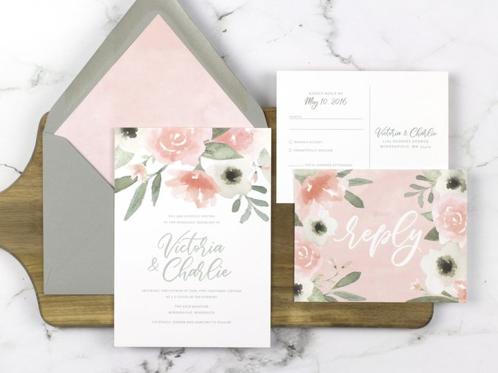 Tmx 1510672514439 Img7120sml Minneapolis wedding invitation