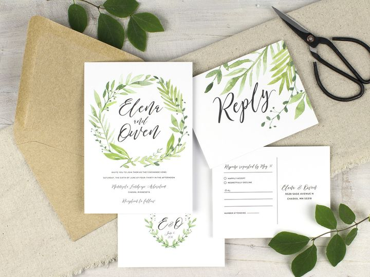 Tmx 1510672595201 Img7250sml Minneapolis wedding invitation