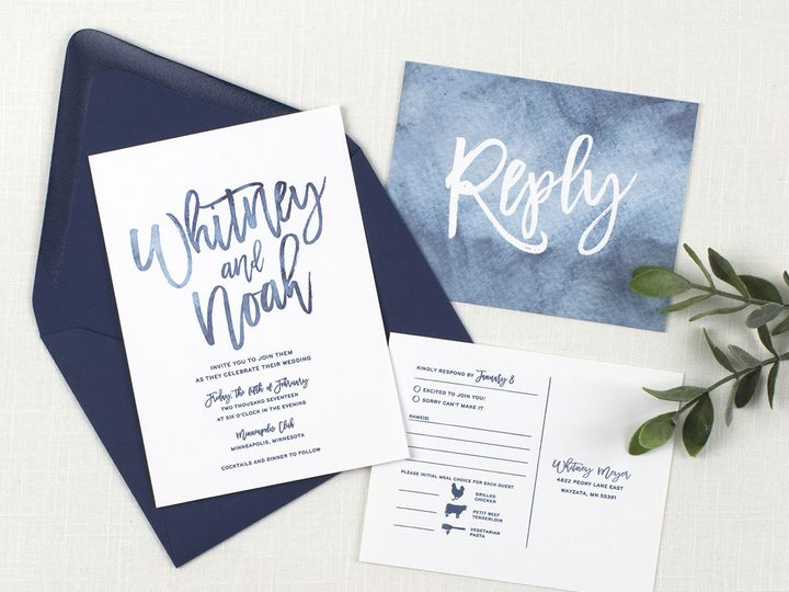 Tmx 1510672637672 Img7134sml Minneapolis, MN wedding invitation