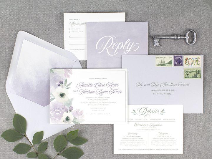 Tmx 1510672678208 Img7236sml Minneapolis, MN wedding invitation
