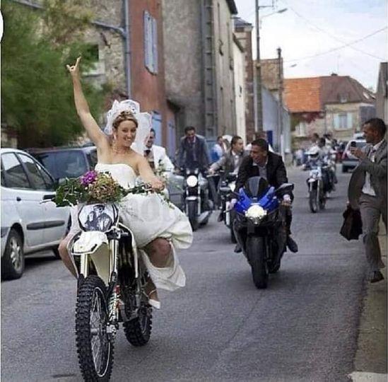 When you both ride...