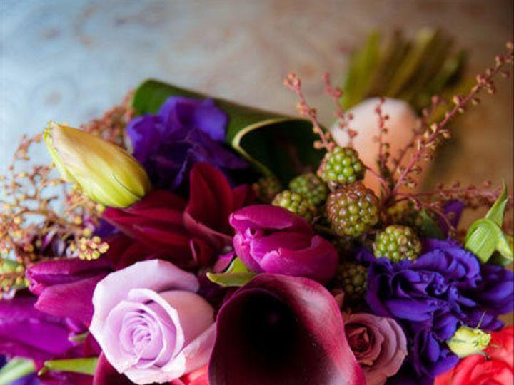 Tmx 1422572467011 Bridalbrightdeeppurpleburgundy San Jose wedding florist