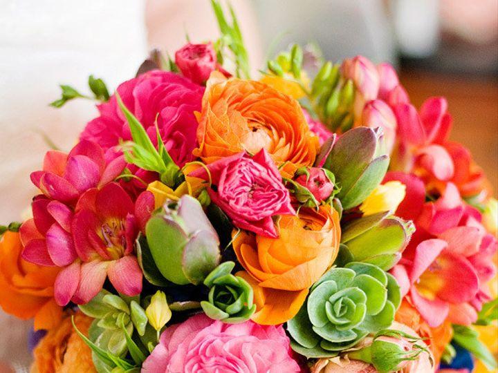 Tmx 1422572594701 Bridalfiestagreenorangefuchsiapink San Jose wedding florist