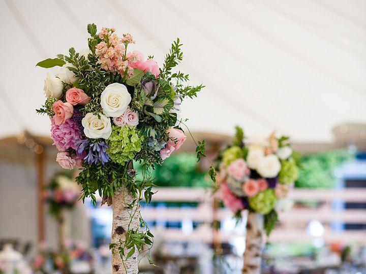 Tmx 1422573187353 Kingstablewhitebluesoftpinkgardenhyacinthpeoniesro San Jose wedding florist
