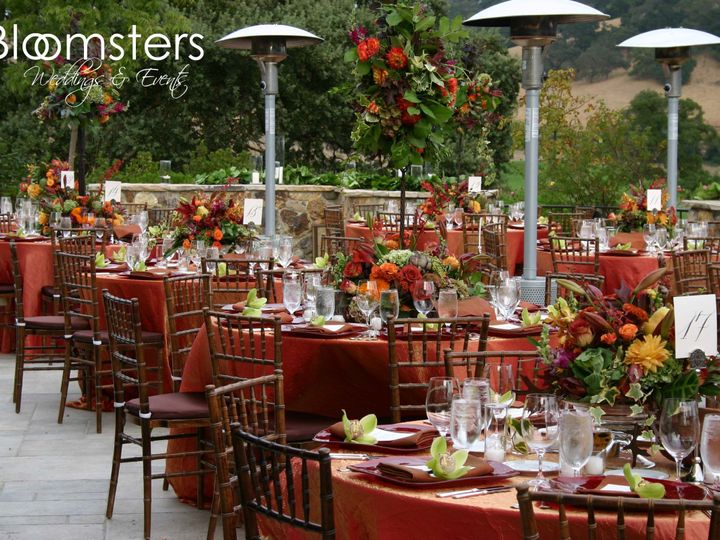 Tmx 1422573406604 Receptionterracefallcloslachance San Jose wedding florist