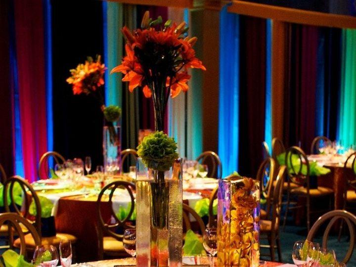 Tmx 1422573721076 Tallmodernframspheresubmergedcenterpiecetablescape San Jose wedding florist