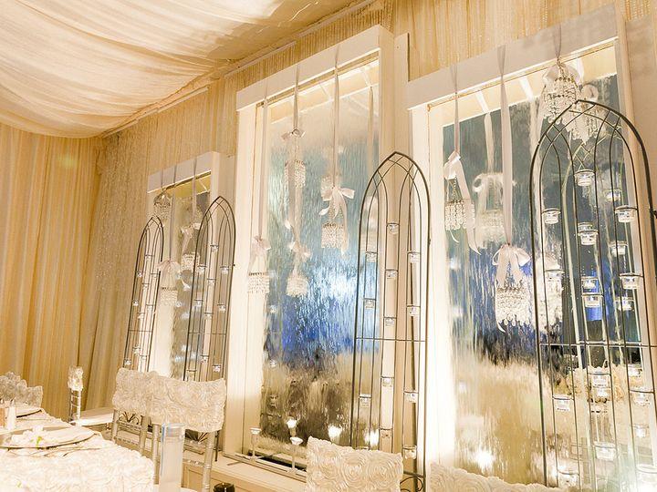 Tmx 1422573750043 Whitewaterfallcandlescreenheadtable San Jose wedding florist