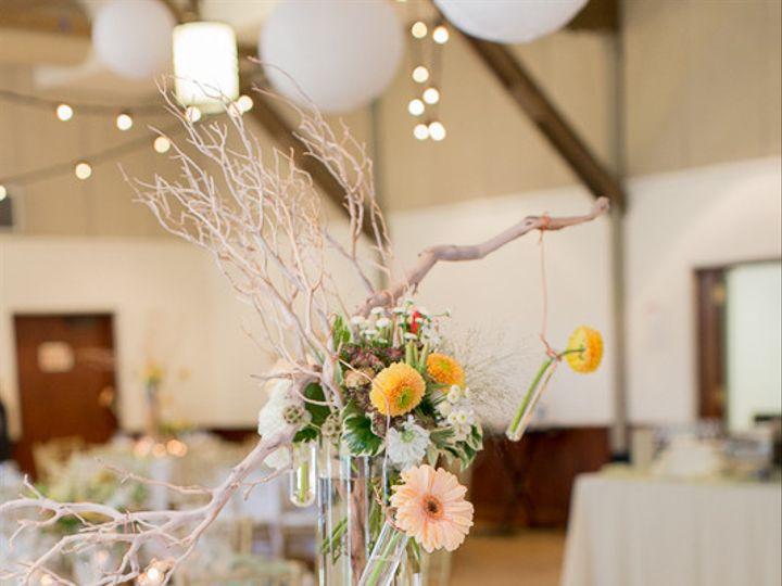 Tmx 1422574056249 Centerpiecetallcutoffcylindervaseorangewhitepeachg San Jose wedding florist