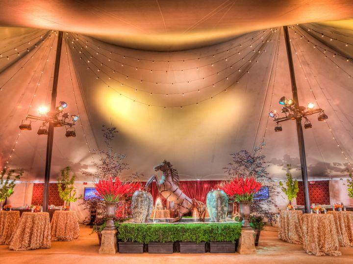 Tmx 1422574147561 Horsestatuehedgesredgladiolas San Jose wedding florist