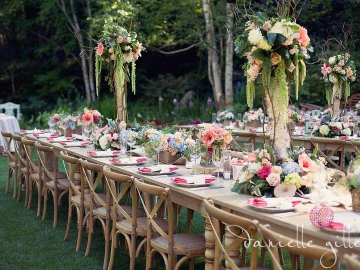 Tmx 1422574246874 Kingstableburlapbirchbranchestallgreenamaranthuswh San Jose wedding florist