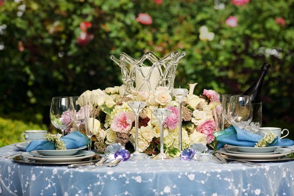 Tmx 1422574665417 Centerpiecelowwhitespinkcallaliliesrosespeonieshyd San Jose wedding florist