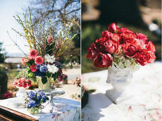 Tmx 1422574701636 Dessertstationarrangementpinkredbluewhiteroseshydr San Jose wedding florist