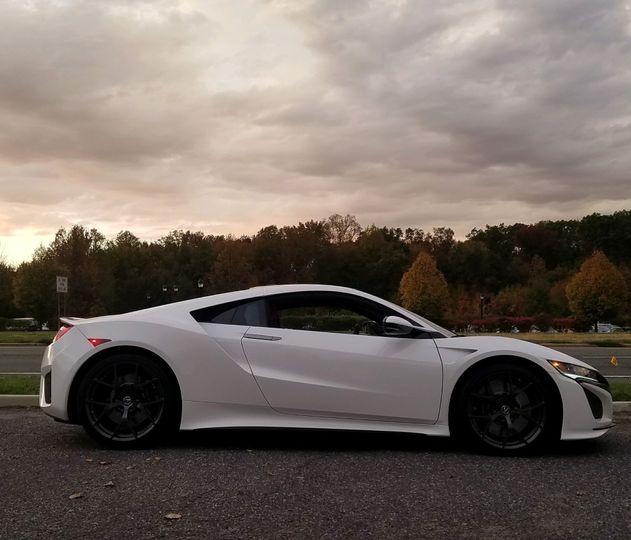 Acura NSX side profile