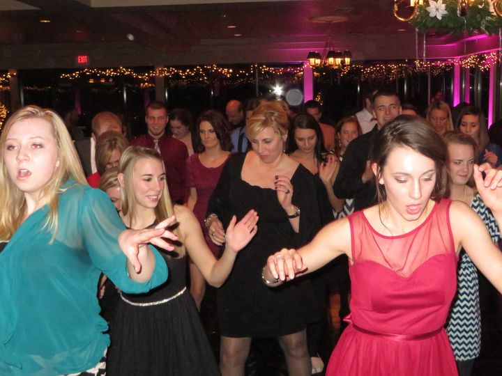 So much fun at a wedding reception in January, 2014 at the DuBois Country Club in DuBois, PA!