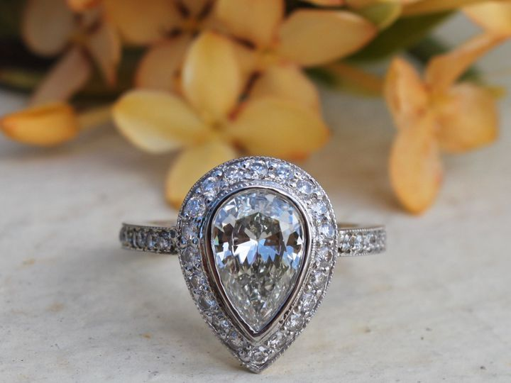 Tmx 1398277009557 Pear Shape Approx 2ct With .87cts Ogde Miami wedding jewelry