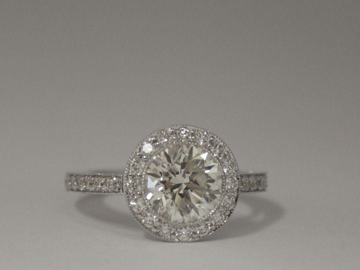 Tmx 1398277024353 Brilliant 1.81ct Center With .96ct Sides Fisher  Miami wedding jewelry