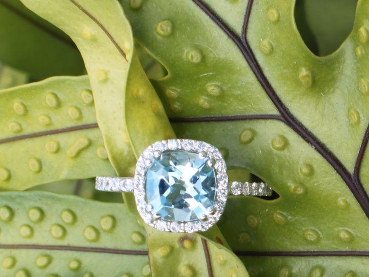 Tmx 1398279615893 Aquamarine 1.85ct Dia .36ct 18k White Ret210 Miami wedding jewelry