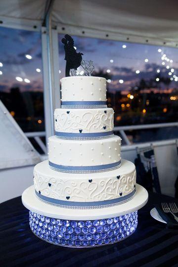 Cinderella Cakes aboard yacht ICON