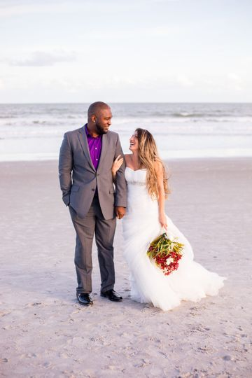 Crystal Lily Photography Beach Wedding, Beach Elopement