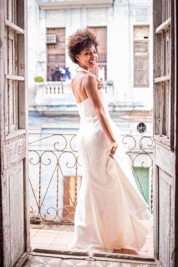 Destination bridal in Havana, Cuba