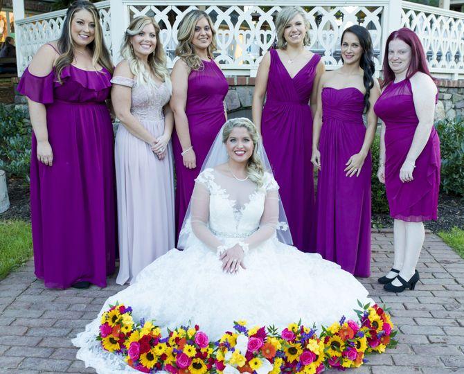 Bridemaids over everything