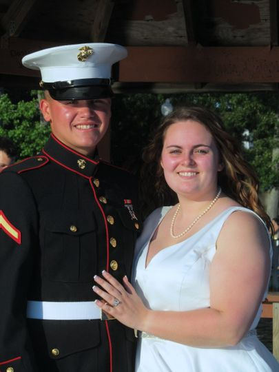 Officer's wedding