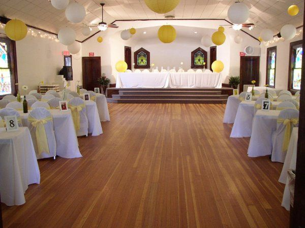 Royal View Hall ~ Reception with Yellow Lanterns