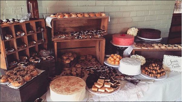 Cake and pastries