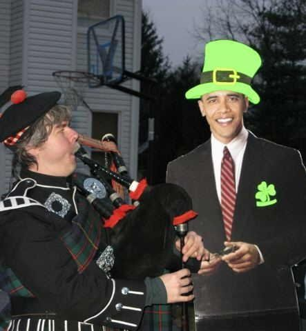 O'Bama was busy so he sent a stand-in