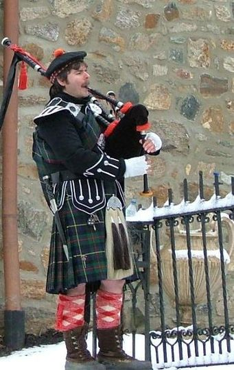 Wintertime piping