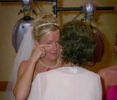 Stolen picture of the bride