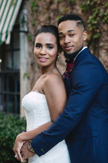 Ebony's wedding