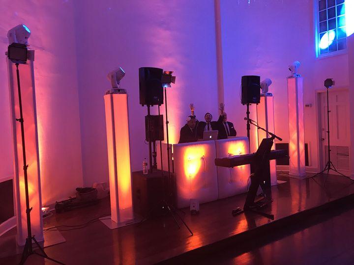 DJ area