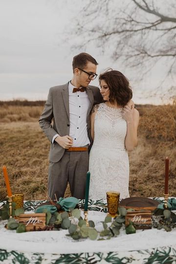 Korey & Hannah, styled shoot